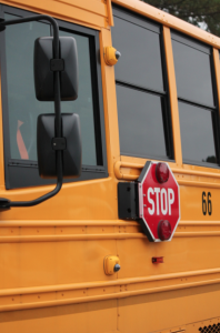 Submitted photo Stop-arm cameras are now installed on Richmond County Schools buses.