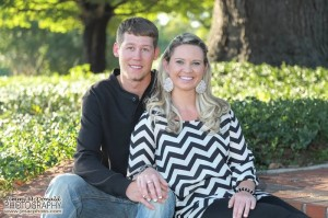 Photo by Jimmy McDonald | jmacphoto.com Cassie Blaine Patrick and Cody Allen Rich Tyler plan to marry in December.