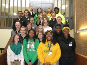 Submitted photo Tenth grade Distinguished List:  1st Row:  Hailey Bass, Kristin Surgeon, Maggi Chambers, Charlaja Brown 2nd Row:  Alyson Taylor,  Bayleigh Varner, Timothy Newton 3rd Row:  Kallie Hammond, Jenna Carraway , Hanna Kreinbrink  4th Row:  Pashil Thakar, Victoria Mabe, Jenna Staub, Justin Smith  5th Row:  Nicholas Johnson, Sarah Bowman, Josh Brewer 6th Row:  Saige Steen, Payton Stutts, Javon Quick  Back Row:  Mikhaila Hudson, Courtney Heaton