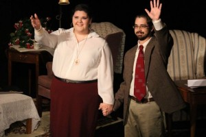 "Kevin Spradlin | PeeDeePost.com Emily Braddock and Jason Buckner gave the audience their seventh and final performance of ""Love Letters"" on Saturday at the Richmond Community Theatre."