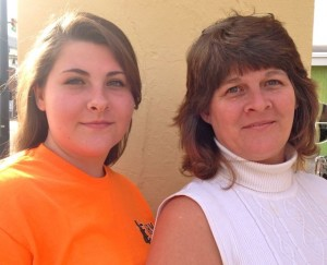 Lillie Lyde and her daughter Elizabeth, left, are two of a three-person team that plans to bring a gourmet coffee house to Rockingham.