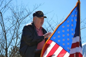 Kevin Spradlin   PeeDeePost.com Ken Lyerly, a retired Navy master chief petty office, was a featured speaker at the event.