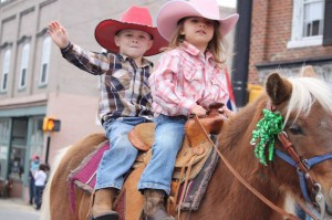 Photo by Kevin Spradlin Participants young and old look forward to the annual Farmers' Day Parade in Ellerbe. It's a can't-miss event.