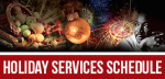 Holiday-Services-schedule