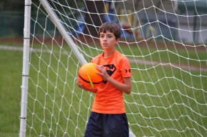 Kevin Spradlin | PeeDeePost.com Robert Potter hopes to be back on the soccer field in 2015 and rejoin his AC Rocks youth soccer team, coached by Pat Moss.