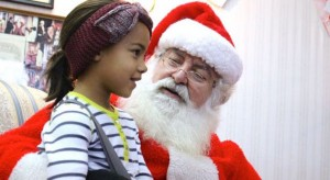 Kevin Spradlin | PeeDeePost.com Santa Claus was a top draw during the 18th annual Christmas on the Square in downtown Rockingham.