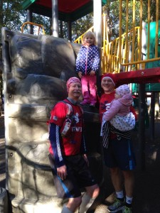 Submitted photo Just about every Team RWB can be a family affair.