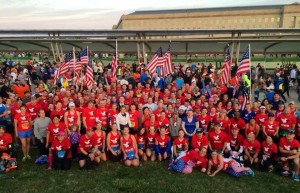 Submitted photo When Team RWB members are present, the rest of the crowd generally knows who they are.