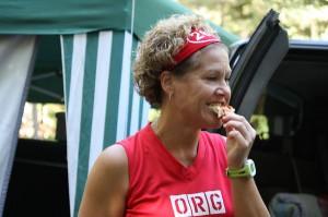 MacKenzie Spradlin | PeeDeePost.com Food is, beyond a shadow of a doubt, a big draw to the Hinson Lake ultra marathon.