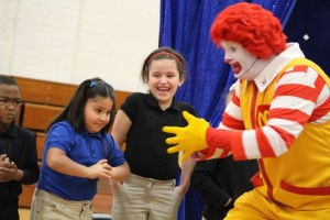 Kevin Spradlin | PeeDeePost.com Bullies, said Ronald, come in all shapes and sizes.