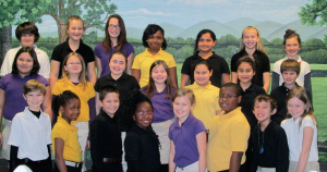 Submitted photo Mineral Springs Elementary School students in grades 3 through 5 making the A Honor Roll for the second nine weeks grading period were, first row from left; Ayden Mabe, Breonikia McKoy, Ethan Locklear, Cheyenne McDonald, Alisa Whitlock, Diezel Green, Taphet Phonchone, and  Anabella Ross. Second Row from left; Emily Juarez, Hailey Maness, Hayley McCormick, Caroline Hunsucker, Zonia Contreras Gonzalez, Shelia Martinez, and Dexter Mabe. Third Row from left; Battle Grooms, Jamie Kay Sears, Makayla Webb, Maya Ledbetter, Yulianna Gonzalez, Haylee Johnson, and Caylie Holden.