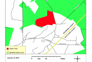 This WRC image shows the area of the Ryan Poplin Tract.