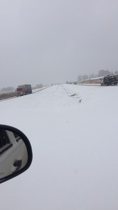 Ellerbe resident Coleman Berry offers this view of Highway 220.