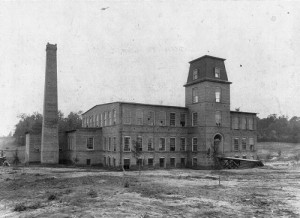 The Coleman Manufacturing building, circa 1900.