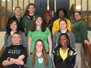 Submitted photo Seniors at RSHS making the Distinguished List for the second nine-week academic period.