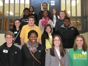 Submitted photo Sophomores at RSHS making the Distinguished List for the second nine-week academic period.