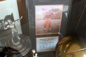 Kevin Spradlin | PeeDeePost.com Ron Tuthill was arguably the best quarterback ever to play in Richmond County. His death was the catalyst to the 18 years of reunions at Coach Bill Eutsler's cabin in Cheraw.