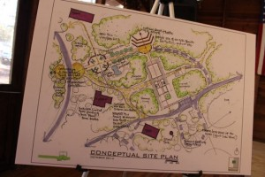 A conceptual drawing from October 2014 shows what planners believe they can make happen at Millstone 4-H Camp.