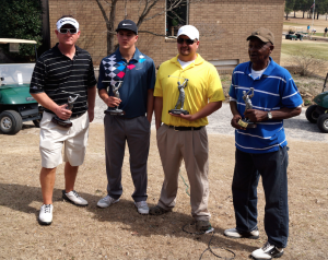 Submitted photo Lex hill, Lex Hill Jr., Earnest Morman and Mike Smith teamed up to win last year's tournament at Loch Haven Golf Course.