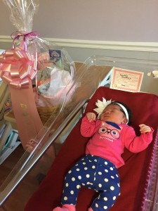 Submitted photo Octavia Mi'Angel McRae was born on Feb. 14, 2015.