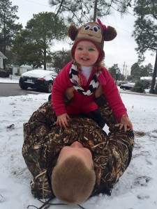 Brittany Bullard submitted this photo of Cali Rae and her Dad.