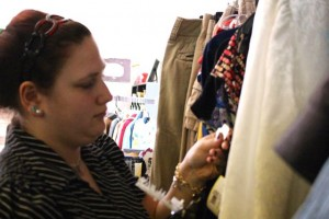Kevin Spradlin | PeeDeePost.com Shelby Blakely and her mother, Lori Wright, will lead Rocking Trends into its third year in downtown Rockingham.