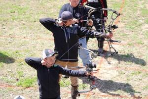 Kevin Spradlin | PeeDeePost.com On the archery range