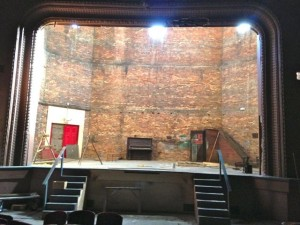Kevin Spradlin | PeeDeePost.com A view of the Hamlet Opera Stage as it is today.