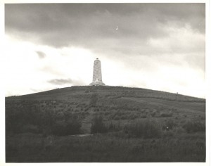 The Wright Brothers National Memorial, circa 1939. Image from the State Archives.