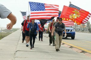 Submitted photo The Hike for 22 in Warrenton, Va., was a success, with more than 200 participants.