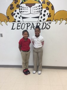 Submitted photo Joydan Styles, left, and Jai'Lyn Hines