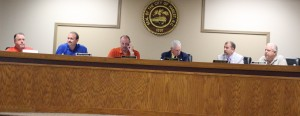 Kevin Spradlin | PeeDeePost.com Hamlet City Council members vary on how and when to allow city employees the ability to purchase an item from a Hamlet business even if the price is higher.