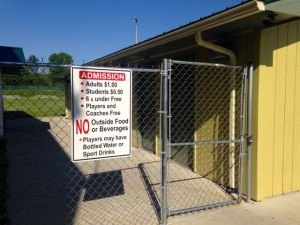 Kevin Spradlin | PeeDeePost.com Maurice McLaurin, the newly hired director for the Hamlet Parks and Recreation Department, sent a detailed list of concerns to City Manager Marcus Abernethy about concerns over eliminating the gate fees for all programs.