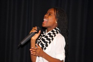 Kevin Spradlin | PeeDeePost.com Raven Newton, 11, already has been offered a full ride to Bennett College in Greensboro based on her musical abilities.