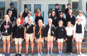 Submitted photo Rockingham Middle School Honor Roll sixth grade students for the third nine-week period.
