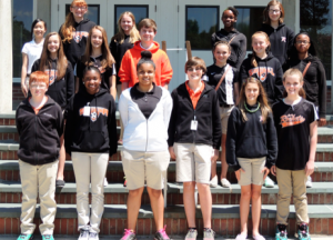 Submitted photo Rockingham Middle School Honor Roll seventh grade students for the third nine-week period.