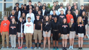Submitted photo Rockingham Middle School Honor Roll eighth grade students for the third nine-week period.