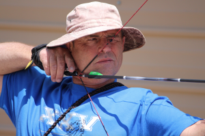 Kevin Spradlin | PeeDeePost.com Mark Blake takes aim from 60 yards out.
