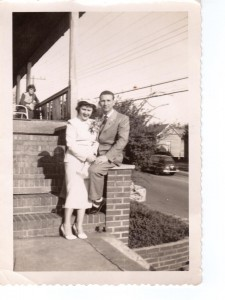 James L. Howell Jr. and Betty Jenkins Howell in 1950.
