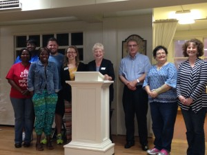 Submitted photo New Rolling Hills Civitan Club members welcomed to the group Monday night include Lauren Buie, Jackie Blue, Minnie Ratliff, Patricia Greene, Beverly Crouse, Cherneise Wall, Jim Nelson and Ashlyn Morland