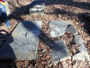 Submitted photo The tomb of Gen. Henry William Harrington and family members lie a few miles south of Rockingham.