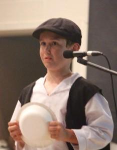 Kevin Spradlin | PeeDeePost.com Hunter Wood as Oliver.