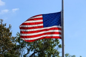"Kevin Spradlin | PeeDeePost.com Dobbins Heights Mayor Antonio Blue noted the wind picked up just as the national anthem, ""America the Beautiful"" and ""Taps"" were played."