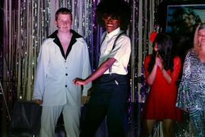 Kevin Spradlin | PeeDeePost.com Wally Papo, played by Marquis Ratliff, learns how to disco.