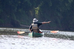 "Kevin Spradlin | PeeDeePost.com David Evans, a Cheraw High School science teacher, is an avoid canoeist and hopes others will learn to take advantage of ""hidden resource."""