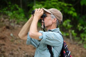 Kevin Spradlin | PeeDeePost.com Ornithologist John Gerwin was prepared to see any type of bird - and on Saturday, even a bat in the middle of the day - with his trusty binoculars.