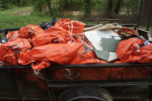 "Submitted photo Perdue associates cleaned up more than 1,200 pounds of garbage last month during Project Clean Stream. Efforts like this are needed in part because many people fail to follow the ""Leave No Trace"" ethical guidelines of enjoying outdoor recreation."