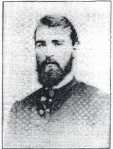 Capt. John Burns purchased a letter from Eliza Hardwick for $1, wrote her back - and later married her.
