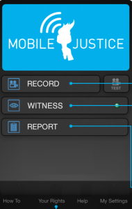 The ACLU of North Carolina is releasing a mobile app to help citizens document interactions with police as they occur.
