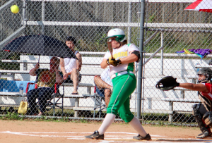 Kevin Spradlin | PeeDeePost.com Raiders first baseman Chelsea Davis powered the Raiders with 10 home runs and 27 RBI.